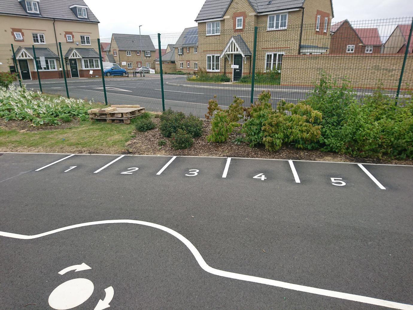 1-5 Parking Bays