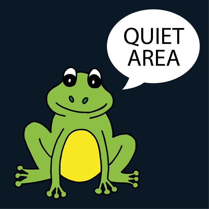 Quiet Area Frog