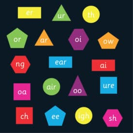 Phonics Shapes