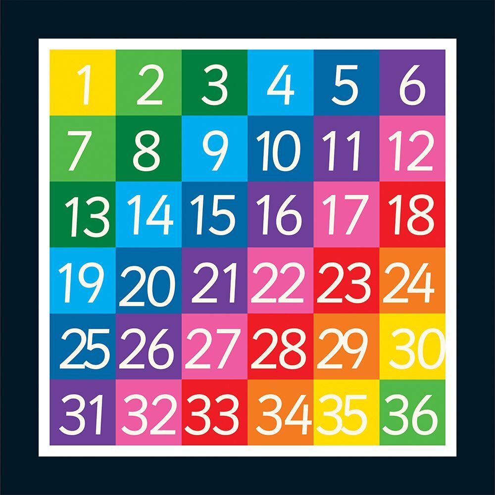 1-36 Grid (Full Solid)