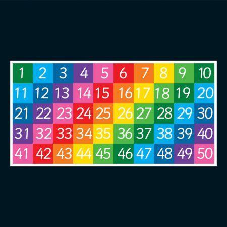 1-50 Grid (Full Solid)