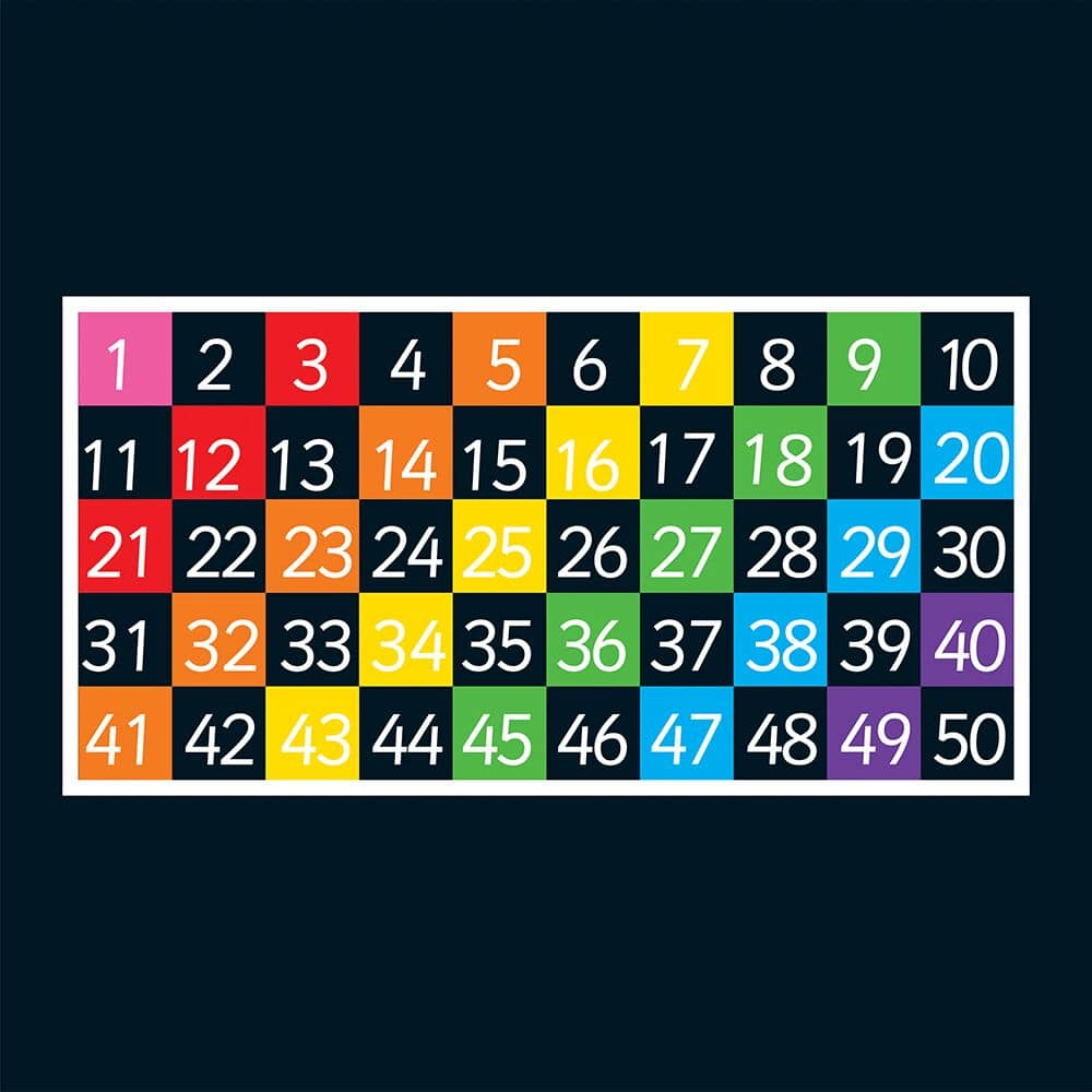 1-50 Grid (Half Solid)