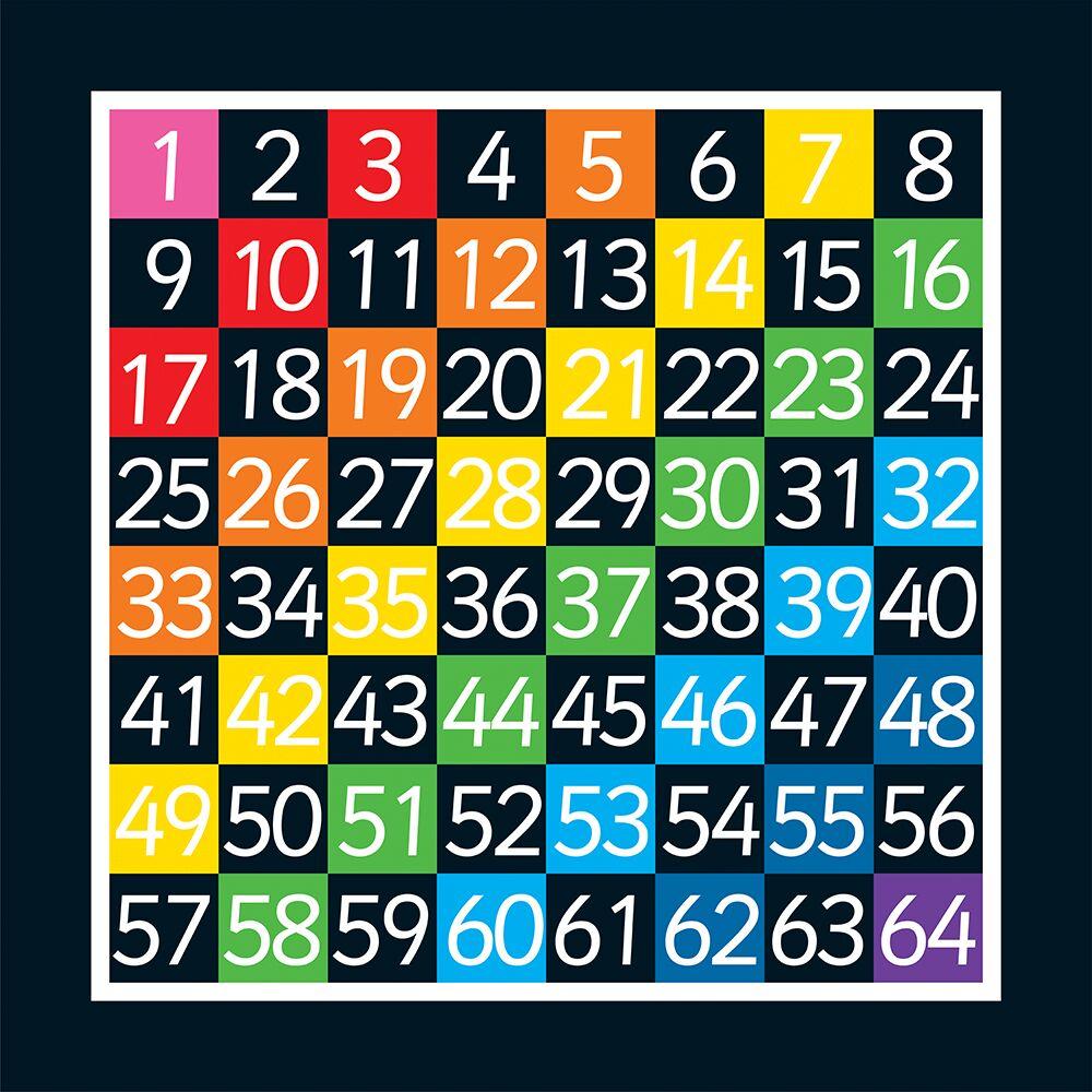 1-64 Grid (Half Solid)