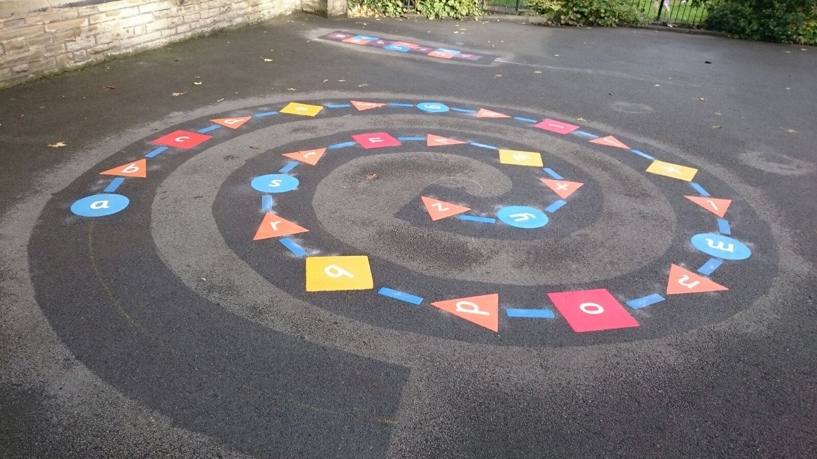 Alphabet Spiral