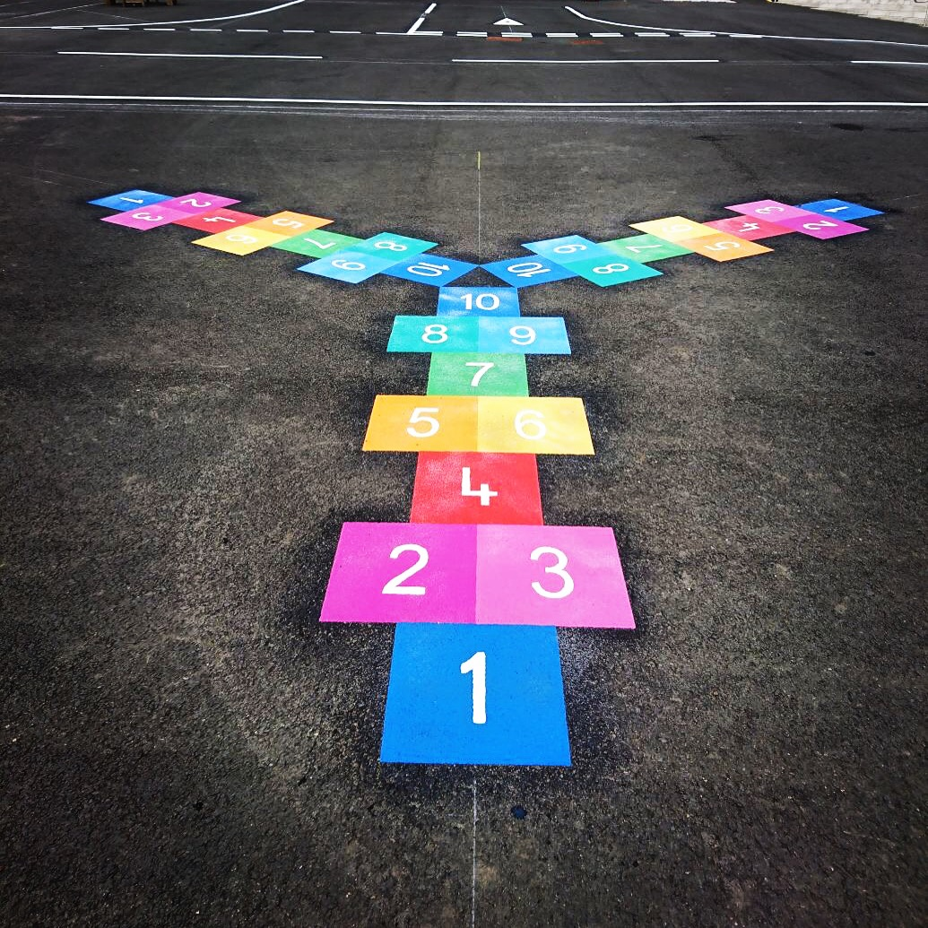3 Way Hopscotch