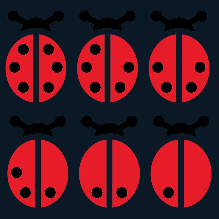 Ladybird Counters