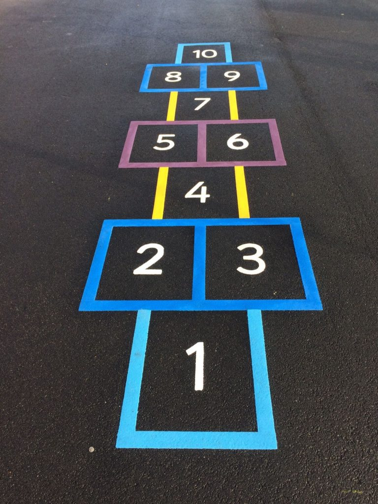 what is thermoplastic? thermoplastic playground markings