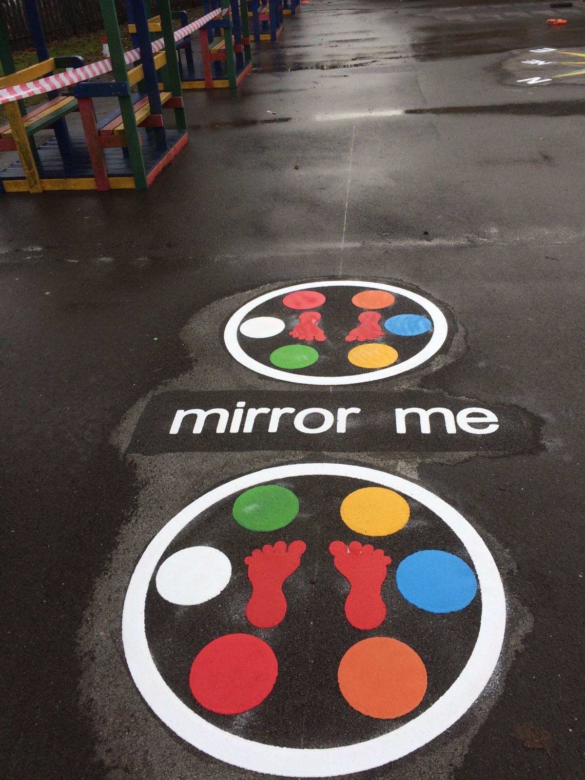 Mirror Me Playground Marking Game