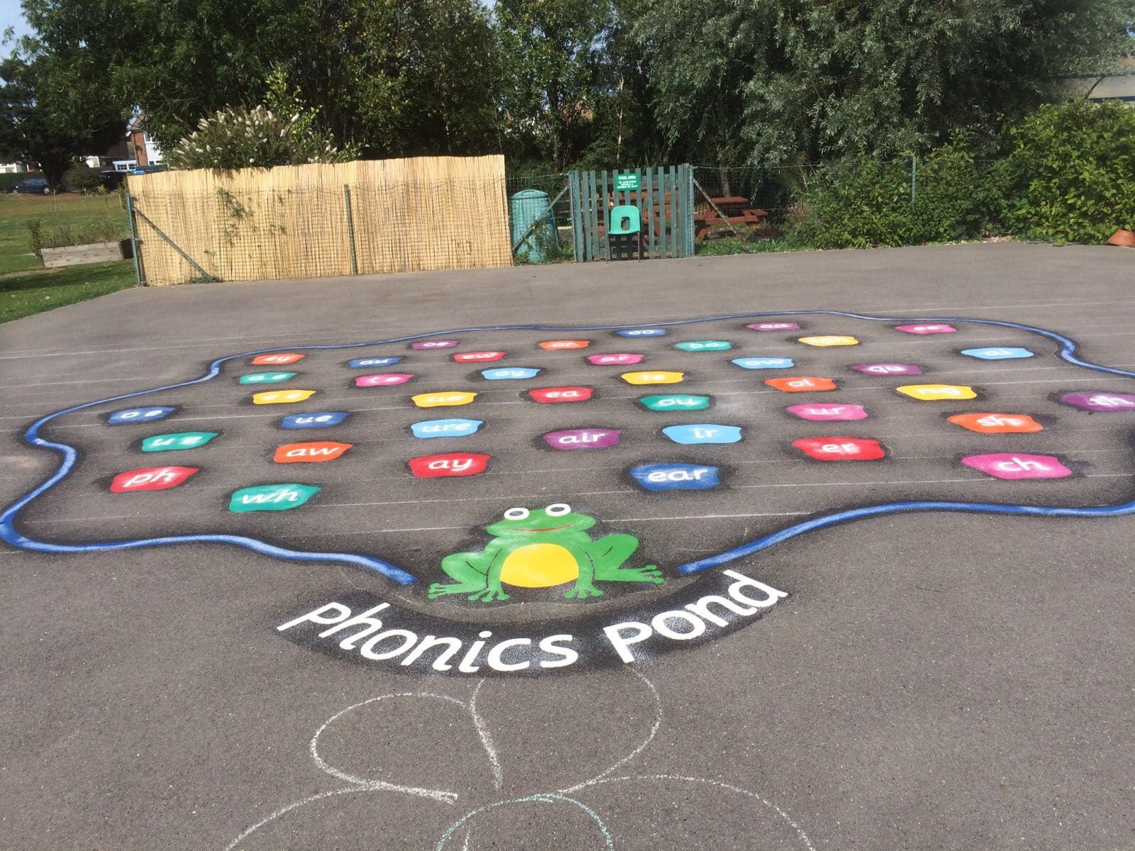 The 40 Sound Phonics Pond
