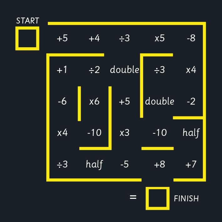 Maths Maze