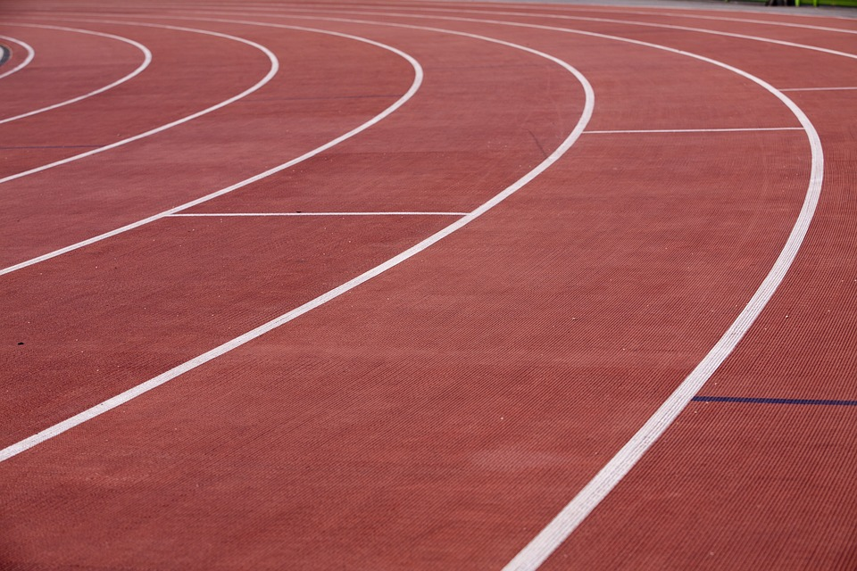 School running track to encourage fitness
