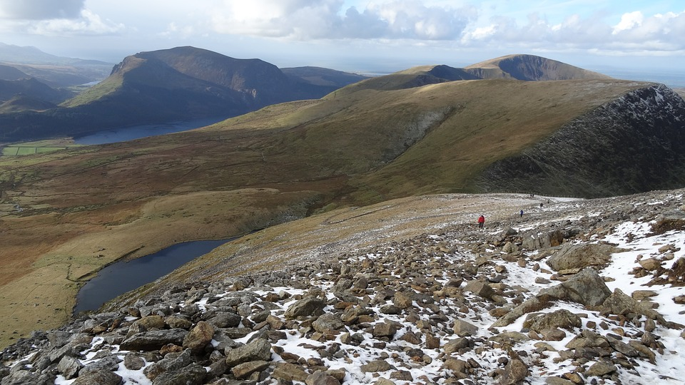 Climbing Mount Snowdon to raise money for new playground markings