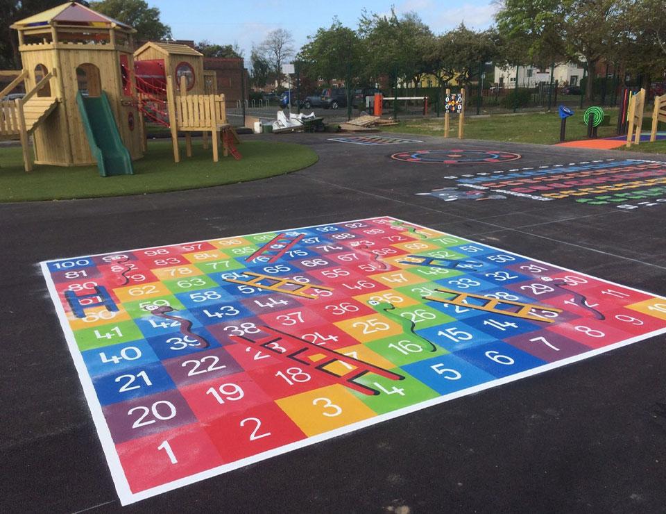 School Playground Markings